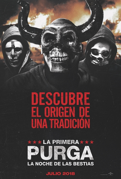 La primera purga: La noche de las bestias  Terror / Thriller / 2018 / EE.UU /