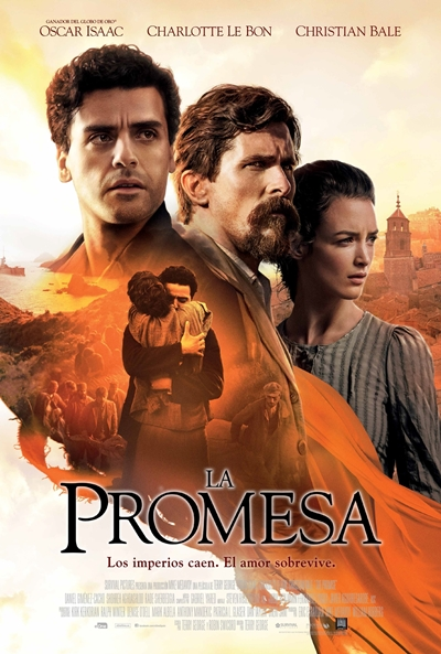 La promesa  Drama / 2016 / EE.UU / 134 minutos