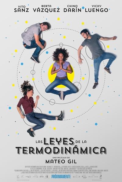 Las leyes de la termodinámica  Romántica / 2018 / España / 100 minutos