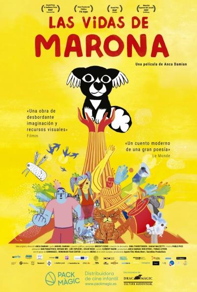 Las vidas de Marona  Animación / 2020 / Francia / 92 minutos