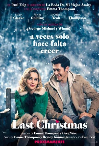 Last Christmas  2019 / Reino Unido / 103 minutos