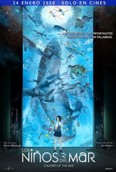 Los niños del mar  Animación / 2020 / Japón / 110 minutos