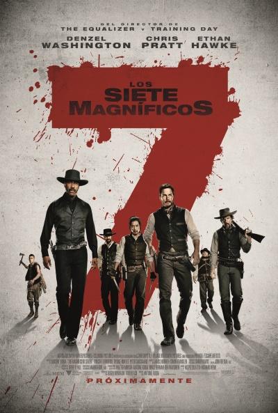 Los siete magníficos  Western / 2016 / EE.UU / 133 minutos