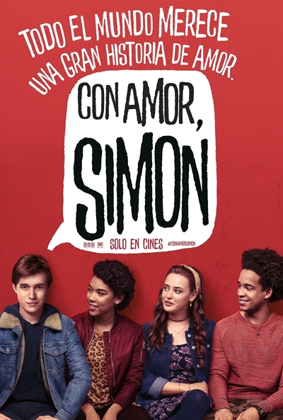 Con amor, Simon  2018 / EE.UU / 110 minutos