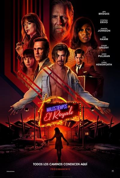 Malos tiempos en El Royale  Thriller / 2018 / EE.UU / 141 minutos