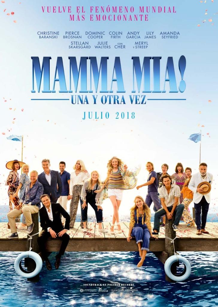 Mamma Mia: Una y otra vez  Musical / 2018 / Reino Unido /