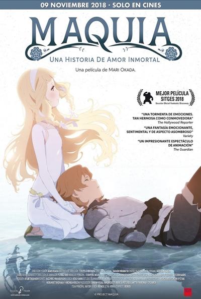 Maquia, una historia de amor inmortal  Animación / 2018 / Japón / 115 minutos