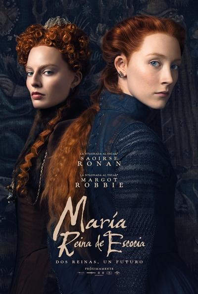 María, reina de Escocia  Drama / 2019 / Reino Unido / 124 minutos