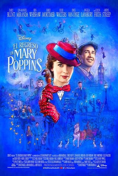 El regreso de Mary Poppins  Musical / 2018 / EE.UU /