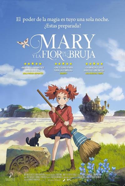 Mary y la flor de la bruja  Animación / 2018 / Japón / 102 minutos