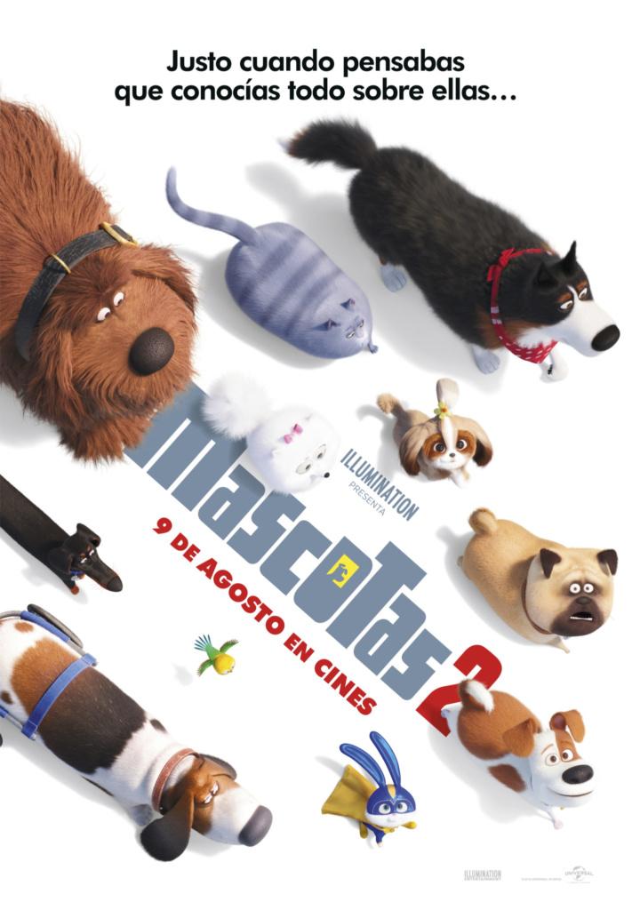 Mascotas 2  Animación / 2019 / EE.UU /