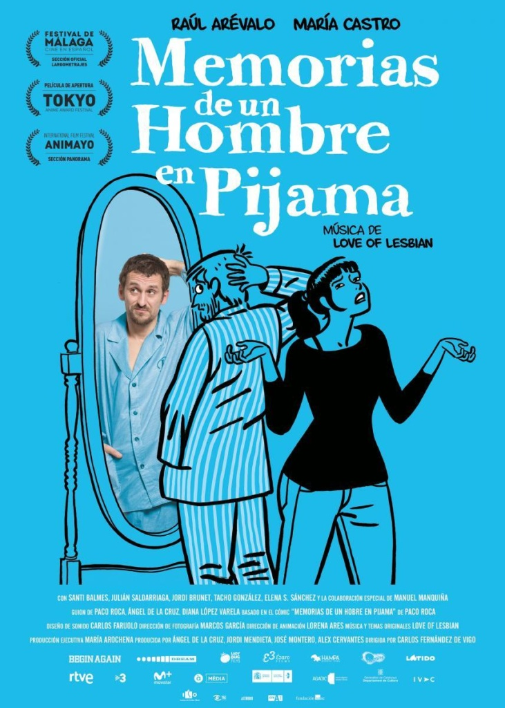 Memorias de un hombre en pijama  Comedia / 2018 / España / 74 minutos