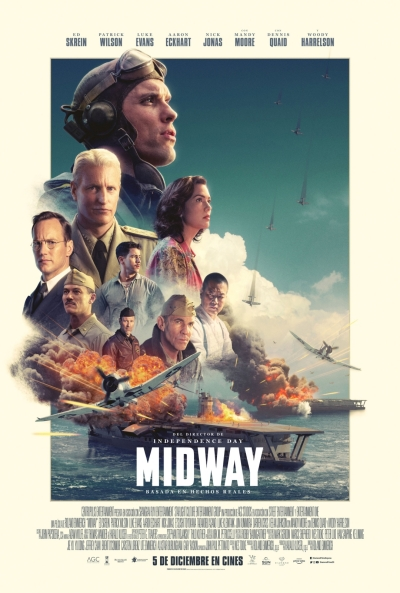 Midway  Bélica / 2019 / EE.UU / 138 minutos