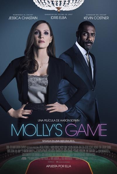 Molly's Game  Drama / 2017 / EE.UU / 140 minutos