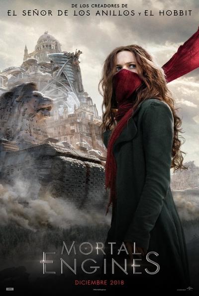 Mortal Engines  Ciencia-ficción / 2018 / Nueva Zelanda /