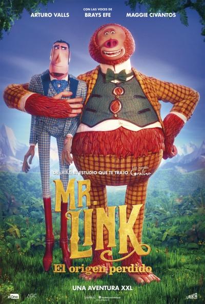 Mr. Link. El origen perdido  Animación / 2019 / EE.UU / 95 minutos