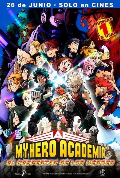 My Hero Academia: El despertar de los héroes  Animación / 2020 / Japón / 104 minutos