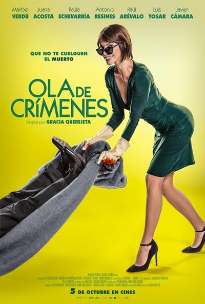 Ola de crímenes  Comedia / 2018 / España /