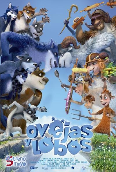 Ovejas y lobos  Animación / 2016 / Rusia / 78 minutos