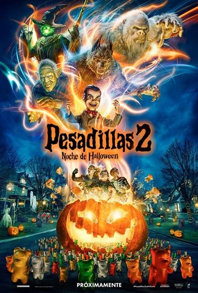 Pesadillas 2: Noche de Halloween  Fantástica / 2018 / EE.UU / 90 minutos