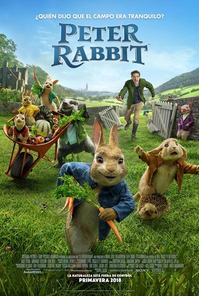 Peter Rabbit  Animación / 2018 / EE.UU / 95 minutos