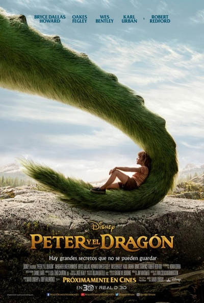 Peter y el dragón  Animación / 2016 / EE.UU / 103 minutos