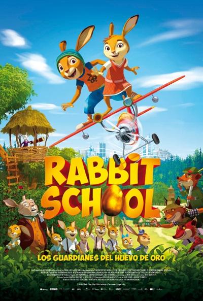 Rabbit School: Los guardianes del huevo de oro  Animación / 2018 / Alemania / 79 minutos