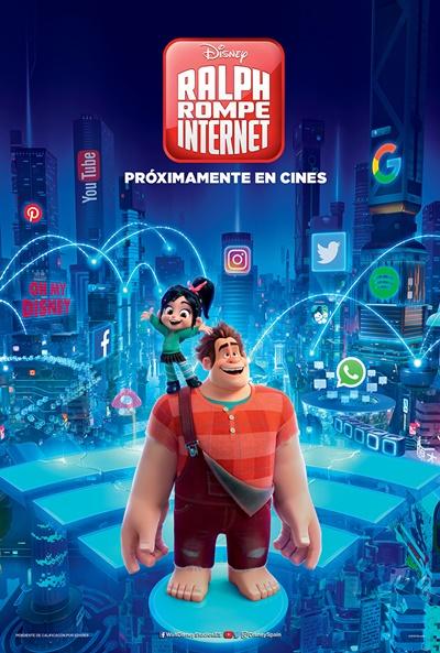Ralph rompe Internet  Animación / 2018 / EE.UU /