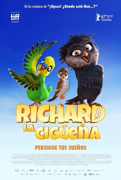Richard, la cigüeña  Animación / 2017 / Luxemburgo / 85 minutos