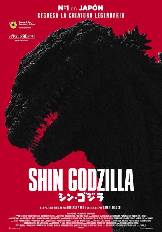 Shin Godzilla  Ciencia-ficción / 2017 / Japón / 120 minutos