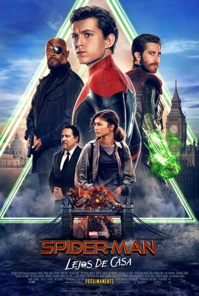Spider-Man: Lejos de casa  Fantástica / 2019 / EE.UU / 130 minutos