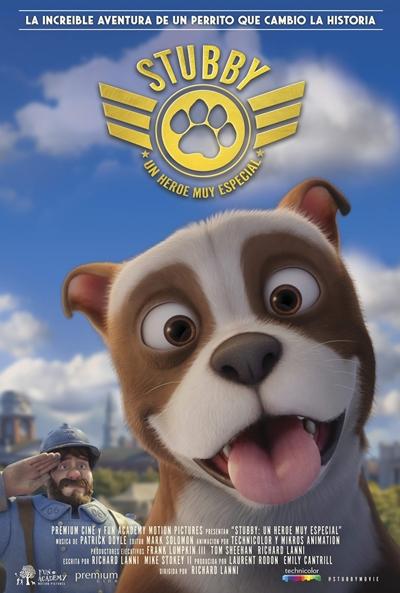 Stubby, un héroe muy especial  Animación / 2018 / EE.UU / 85 minutos