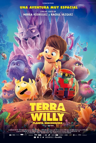 Terra Willy: Planeta desconocido  Animación / 2019 / 90 minutos