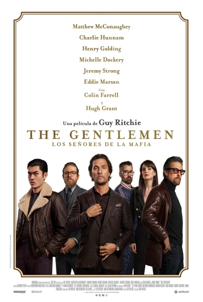 The Gentlemen: Los señores de la mafia  Thriller / 2020 / EE.UU / 113 minutos