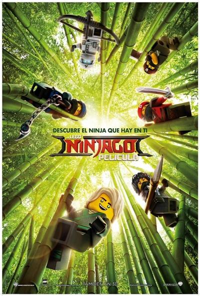 La LEGO NINJAGO Película  Animación / 2017 / EE.UU /