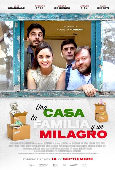 Una casa, la familia y un milagro  Comedia / 2018 / Italia / 90 minutos