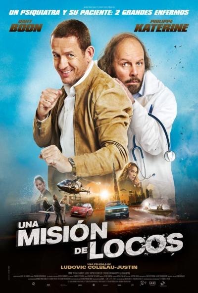Una misión de locos  Comedia / 2020 / Francia / 95 minutos