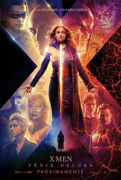 X-Men: Fénix Oscura  Ciencia-ficción / 2019 / EE.UU /