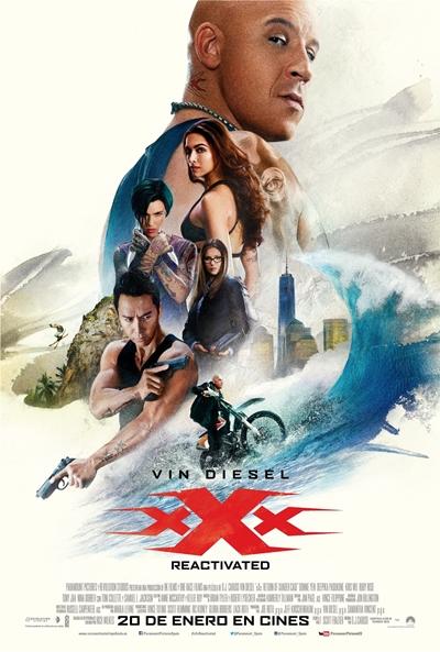 xXx: Reactivated  Acción / 2017 / EE.UU / 106 minutos