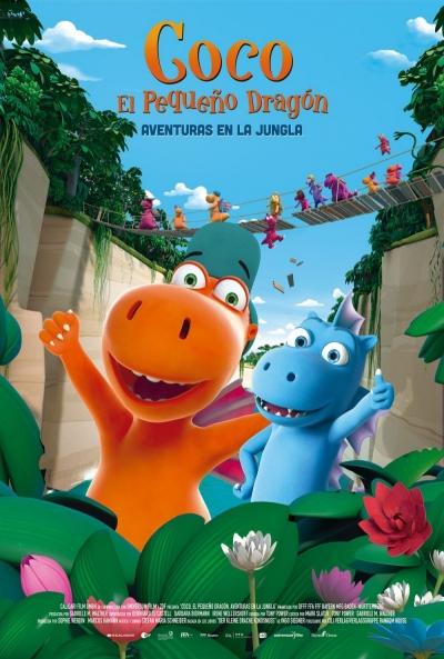 Coco, el pequeño dragón. Aventuras en la Jungla  Animación / 2020 / Alemania / 80 minutos
