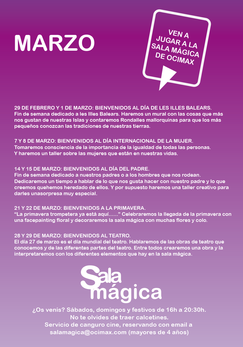 poster MARZO